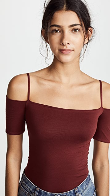Enza Costa Strappy Off Shoulder Top