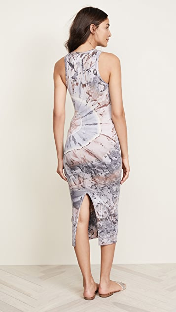 Enza Costa Sleeveless Ankle Length Dress