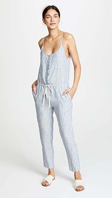 Easy Jumpsuit in White. - size 0 / XS (also in 1 / S,2 / M,3 / L) Enza Costa