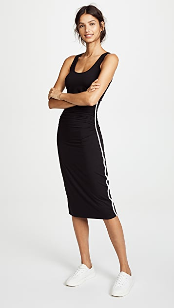 Enza Costa Tank Midi Dress