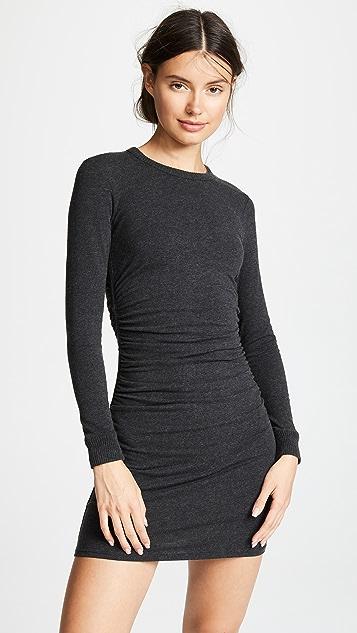 Enza Costa Ruched Mini Dress