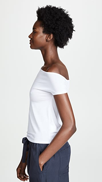 Enza Costa Asymmetrical Top