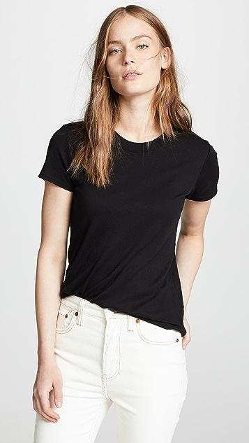Enza Costa Классическая футболка с короткими рукавами