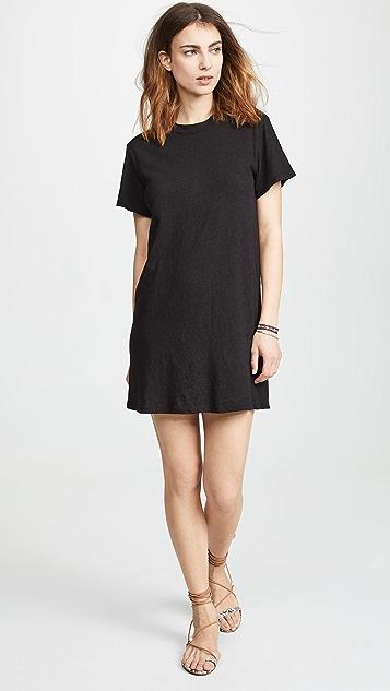 Enza Costa Платье-футболка с неравномерной текстурой