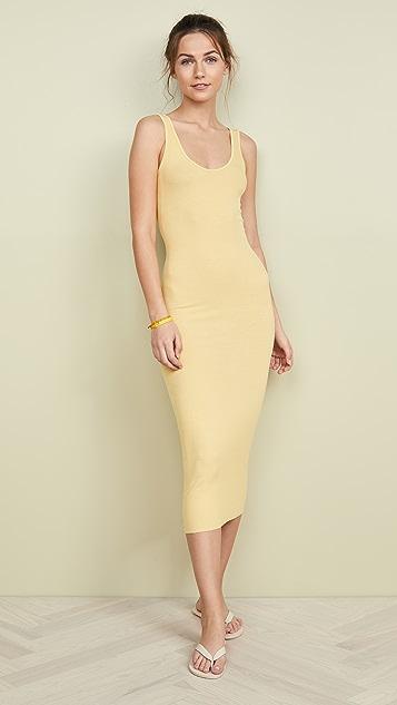Enza Costa Миди-платье без рукавов