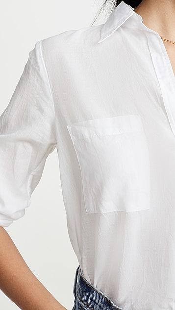Enza Costa High Low Shirt