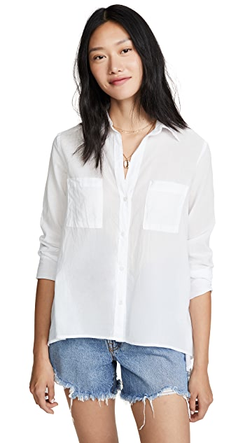 Enza Costa Асимметричная рубашка