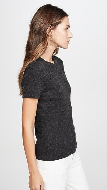 Enza Costa 开司米羊绒完美 T 恤