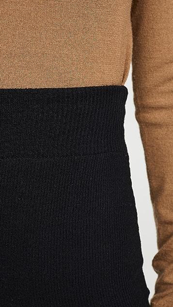Enza Costa Трикотажная юбка свитерной вязки