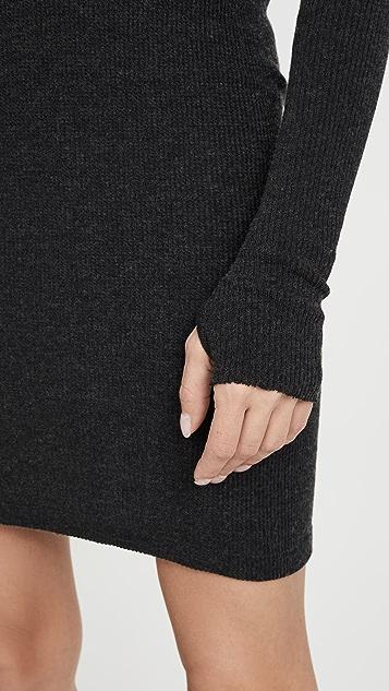 Enza Costa Thermal Mini Dress
