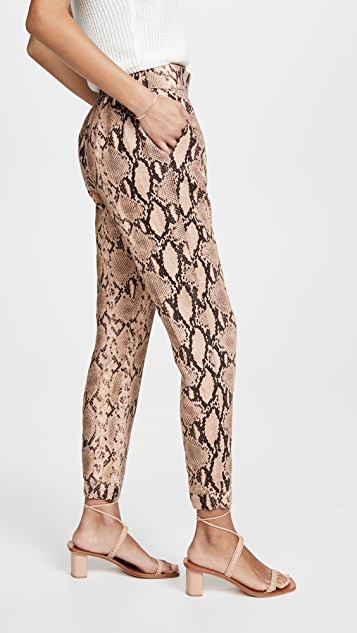 Enza Costa Printed Linen Easy Pants