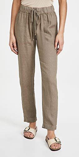 Enza Costa - French Linen Easy Pants
