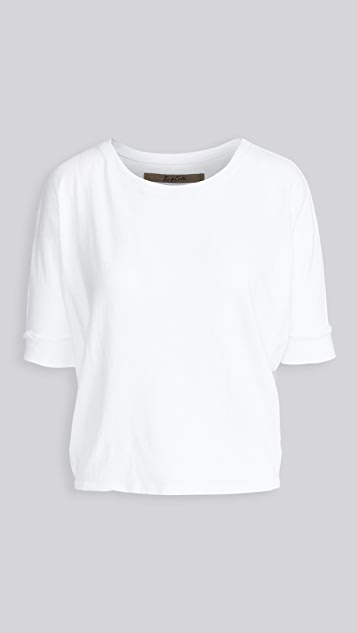 Enza Costa Recycled Jersey Slouch Tee