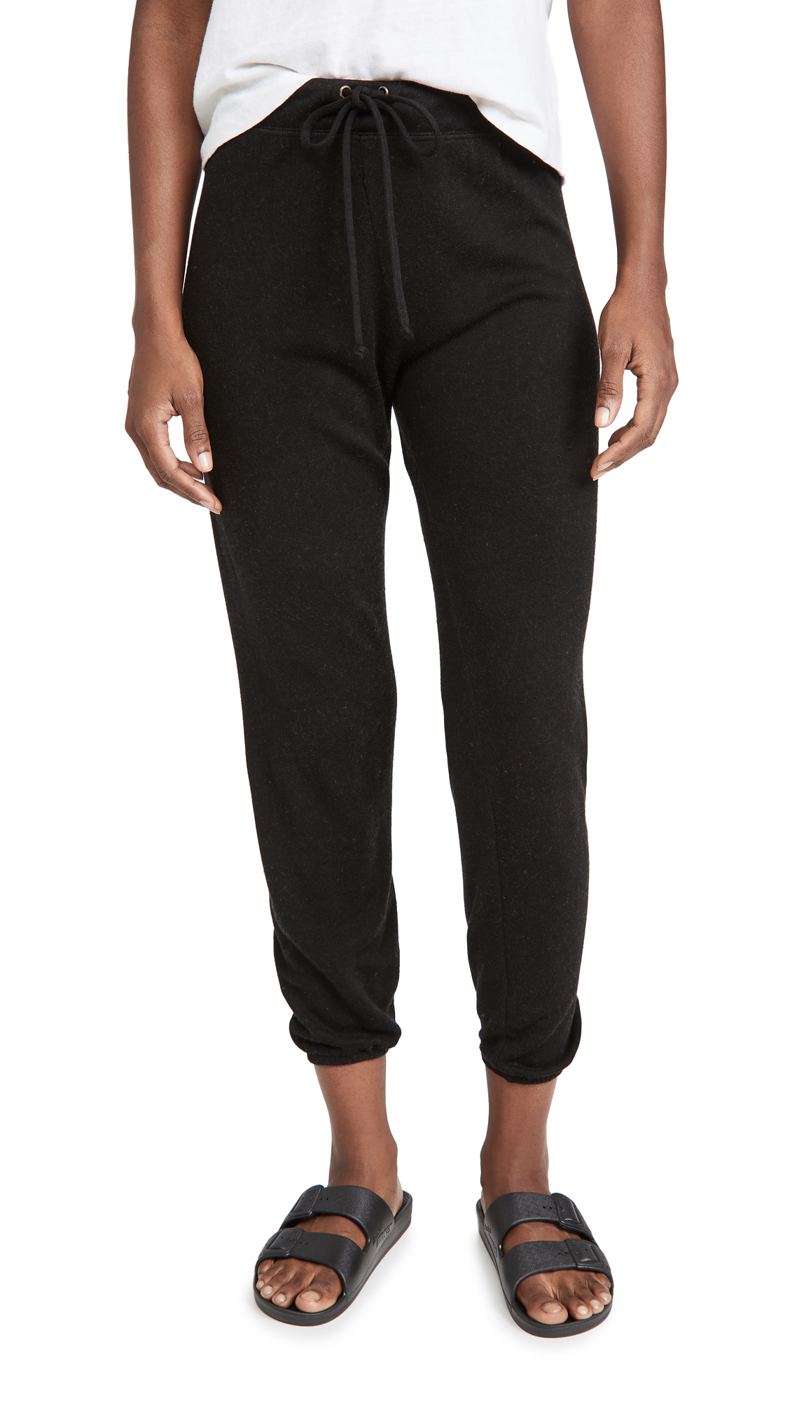 Enza Costa Silk Cashmere Terry Joggers