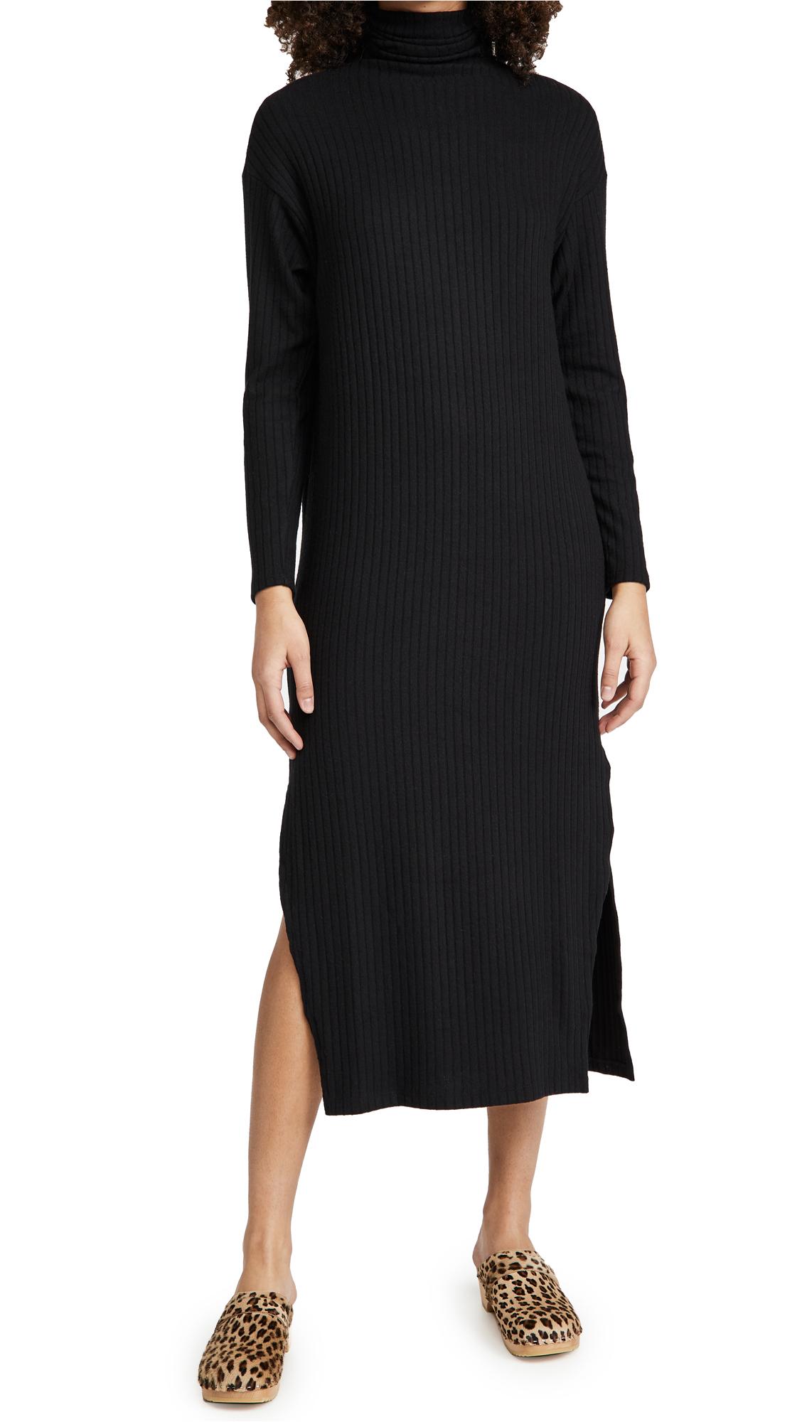 Enza Costa Turtleneck Dress
