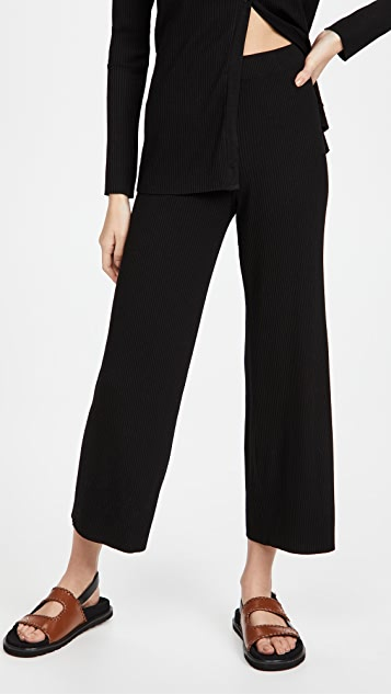 Enza Costa Pull On Cropped Pants