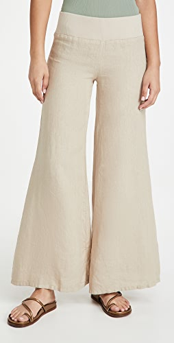 Enza Costa - Linen Wide Leg Pants