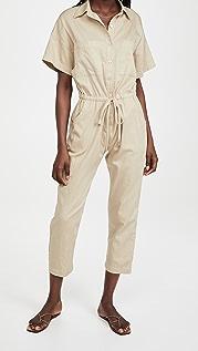 Enza Costa Cotton Jumpsuit