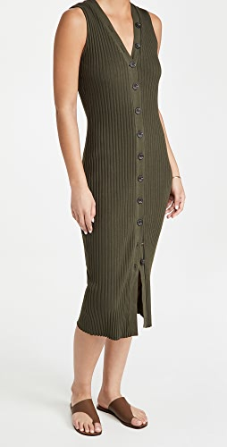 Enza Costa - Sleeveless Cardigan Dress