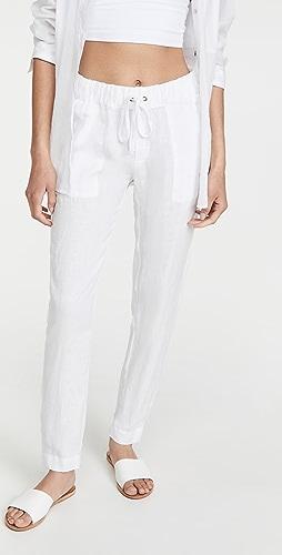 Enza Costa - Linen Easy Pants