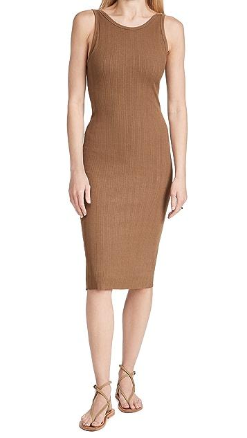 Enza Costa Scoop Back Dress