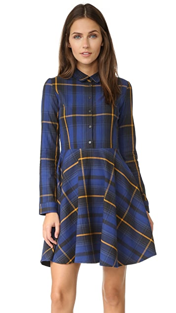 ElevenParis Plaid Mini Dress