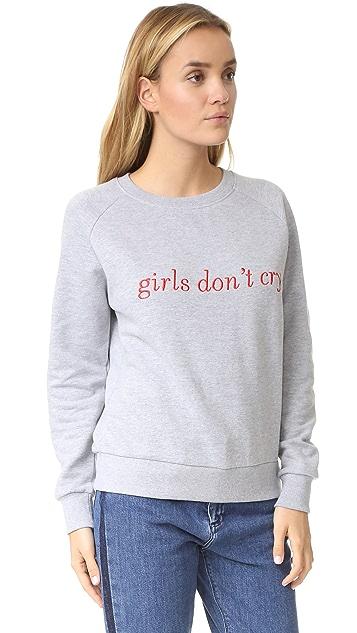 ElevenParis Girls Don't Cry Sweatshirt