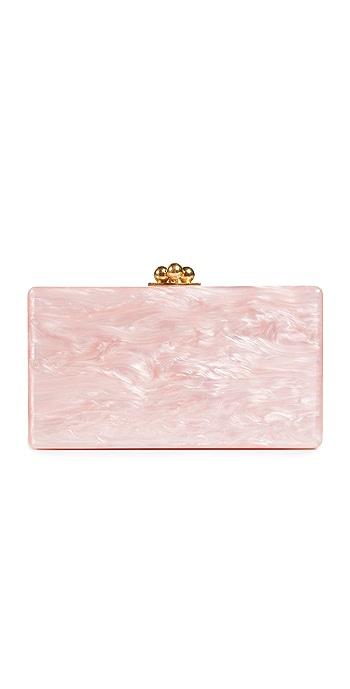 Edie Parker Jean Solid Clutch - Rose Quartz