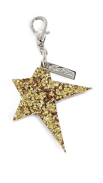 Edie Parker Star Keychain