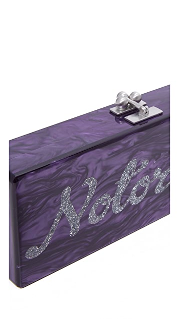 Edie Parker Flavia Notorious Clutch