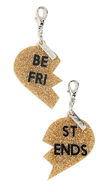 Edie Parker Best Friend Charms