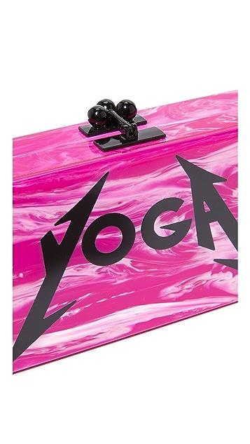 Edie Parker Jean Yoga Clutch