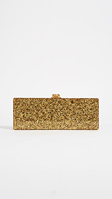 Edie Parker Flavia Solid Shoulder Bag