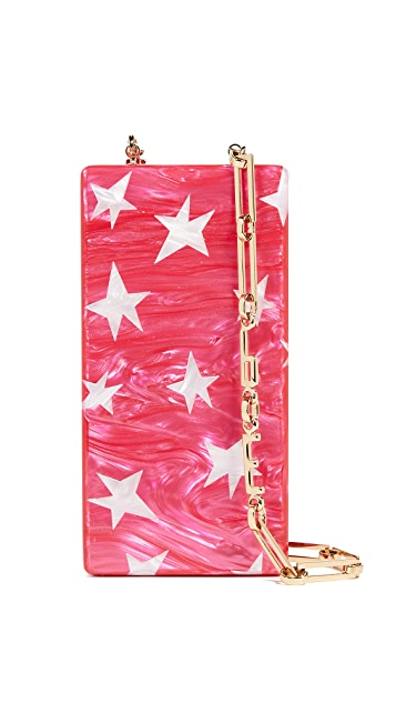 Edie Parker Mini Stars Cross Body Bag