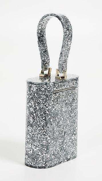 Edie Parker Овальная сумка