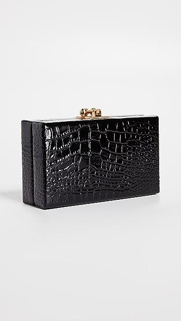 Edie Parker Jean Box Clutch