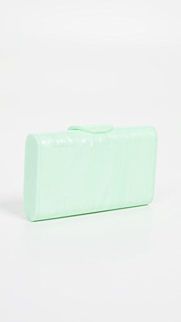 Edie Parker Mini Lara Solid Clutch