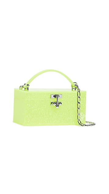 Edie Parker Mini Trunk Clutch