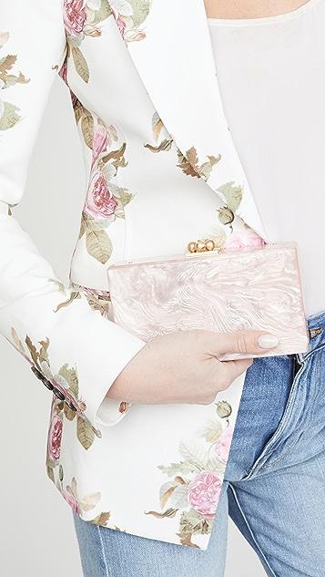 Edie Parker Slim Jean Solid Clutch