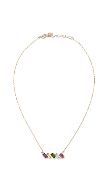 Eden Presley 14k Gold Rainbow Brite Necklace