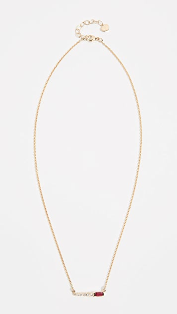 Eden Presley 14k Gold Color Pin Necklace