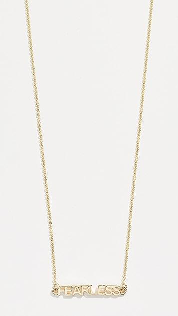 Eden Presley Fearless  Necklace