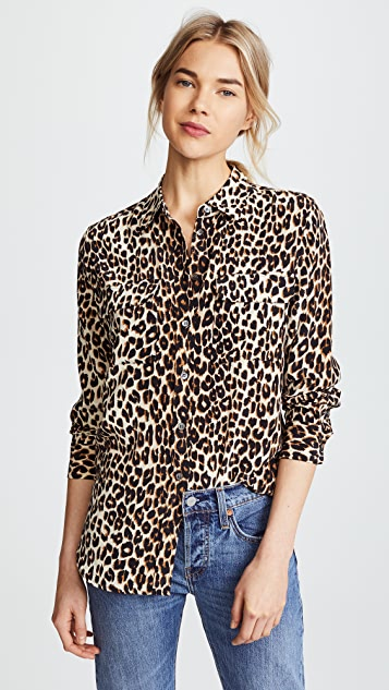 a03a4c311c3a73 Equipment Slim Signature Blouse