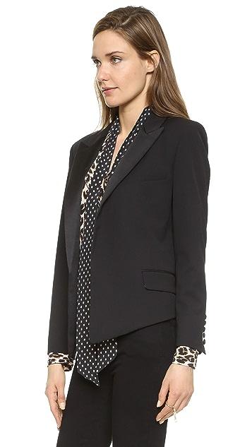 Equipment Kate Moss Wynne Tuxedo Blazer
