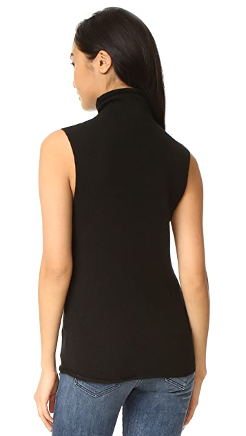 Equipment Fulton Sleeveless Cashmere Sweater