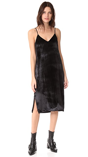 Equipment Nia Velvet Slip Dress