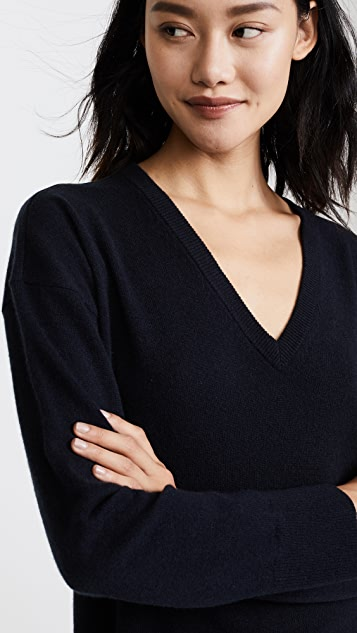 Equipment Lucinda V Neck Sweater