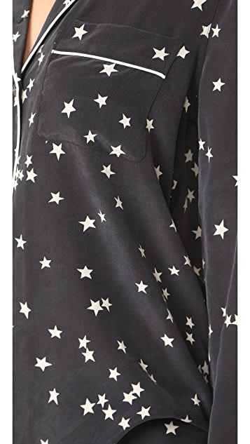 Equipment Пижама Lillian Starry Night