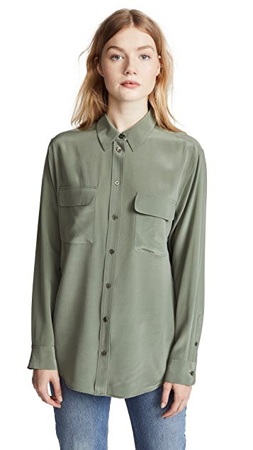 Equipment Signature Button Down Shirt