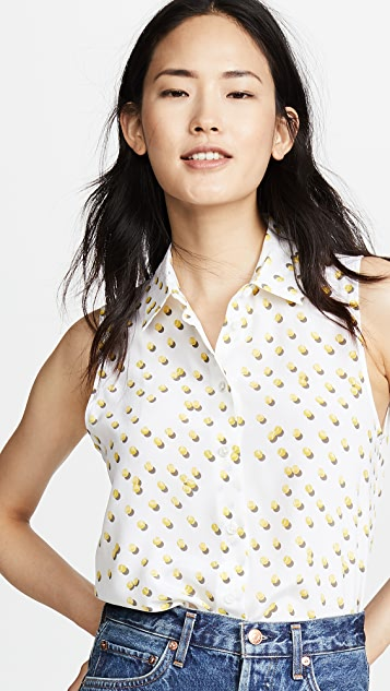 Equipment Colleen Ball Toss Button Down Shirt